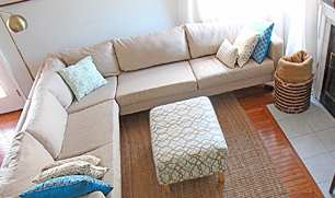 Armless and Sectional Slipcovers. : slip covers for sectionals - Sectionals, Sofas & Couches