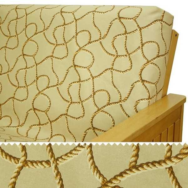 Nautical Knot Custom Dining Chair Cover 330