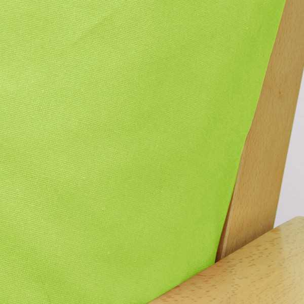 Poplin Lime Custom Dining Chair Cover 909