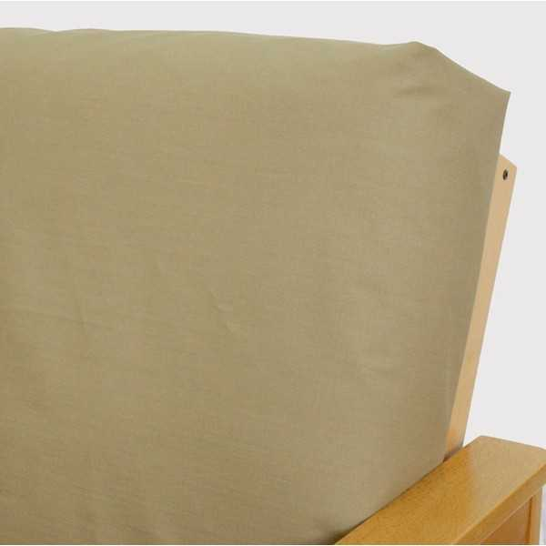 Ripstop Khaki Custom Dining Chair Cover 60