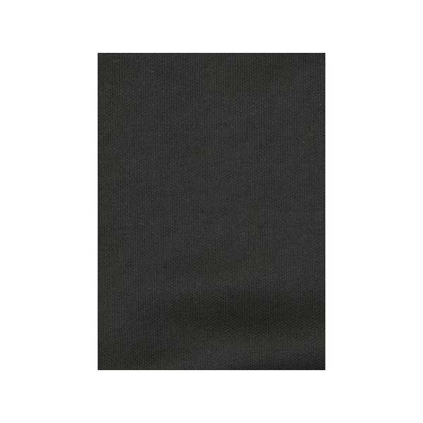 Solid Black Zippered Cushion Cover 400