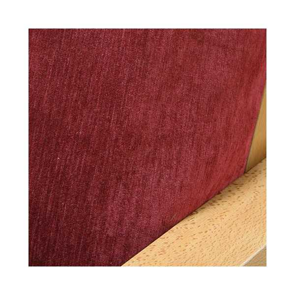 Chenille Cranberry Zippered Cushion Cover 233