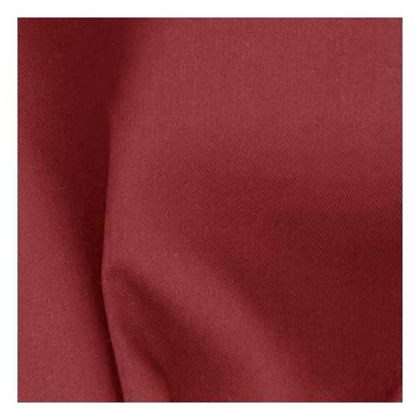 Cranberry Red Twill Custom Coverlet 198