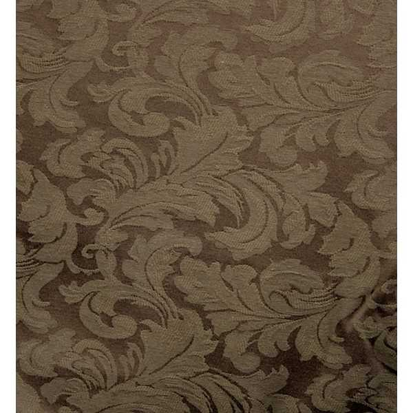 Damask Chocolate Zippered Cushion Cover 578