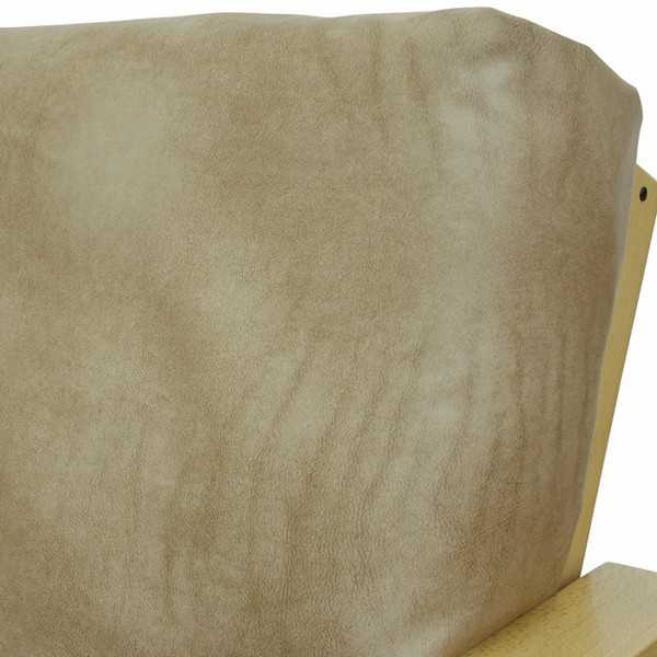 Dunbar Tan Elasticized Cushion Cover 128