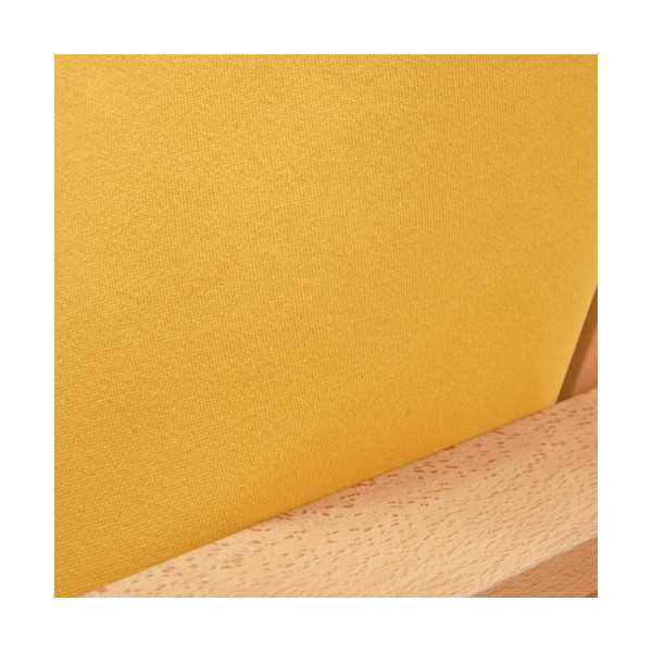 Ultra Suede Gold Yellow Custom Dining Chair Cover 643