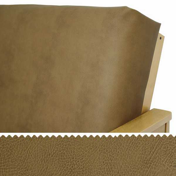 Faux Leather Bomber Zippered Cushion Cover 292