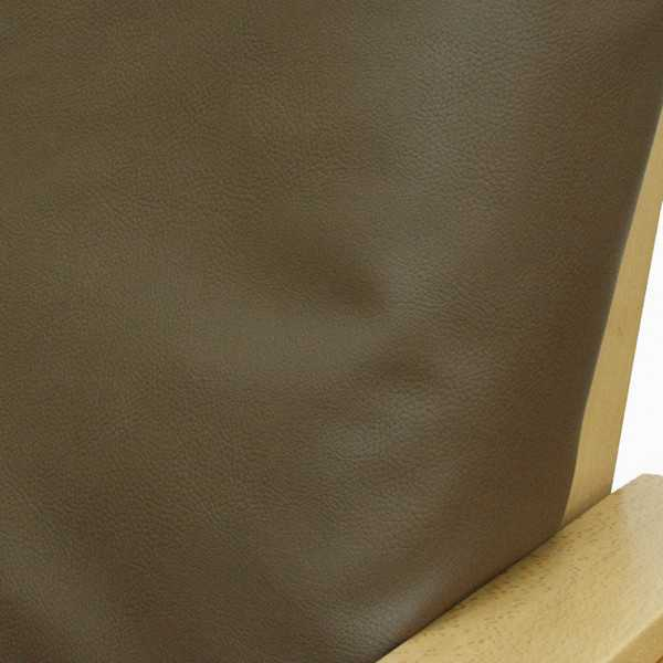 Faux Leather Peacan Zippered Cushion Cover 296