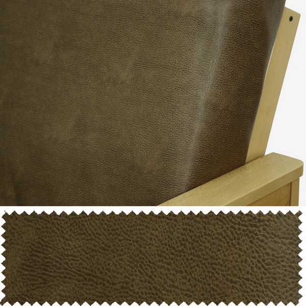 Faux Leather Rawhide Zippered Cushion Cover 223