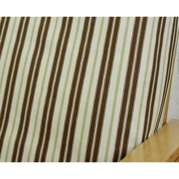 Hampton Stripe Espresso Custom Modular Cover 142