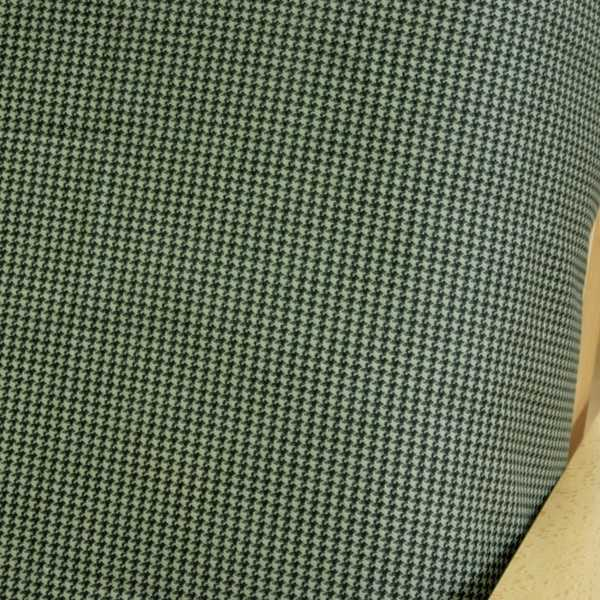 Hound Tooth Green Elasticized Cushion Cover 51