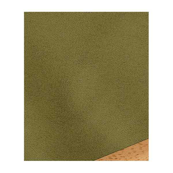 Microsuede Green Olive Zippered Cushion Cover 291