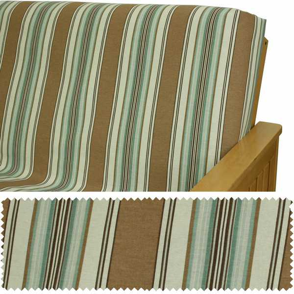 Antiqua Stripe Custom Dining Chair Cover 924