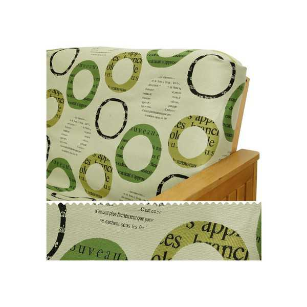 Paris Vert Elasticized Cushion Cover 21