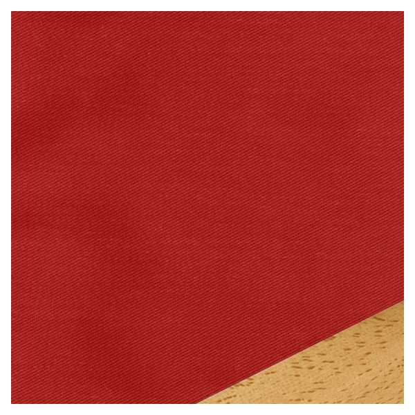 Solid Red Zippered Cushion Cover 410