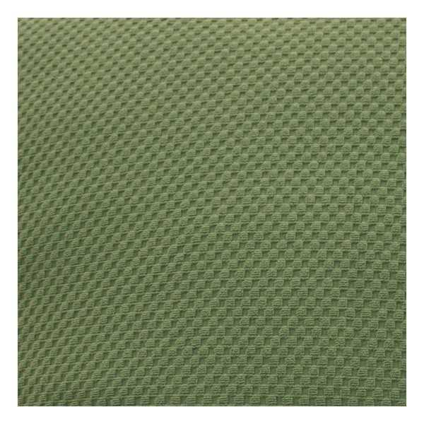 Stretch Pique Balsam Green Zippered Cushion Cover 708