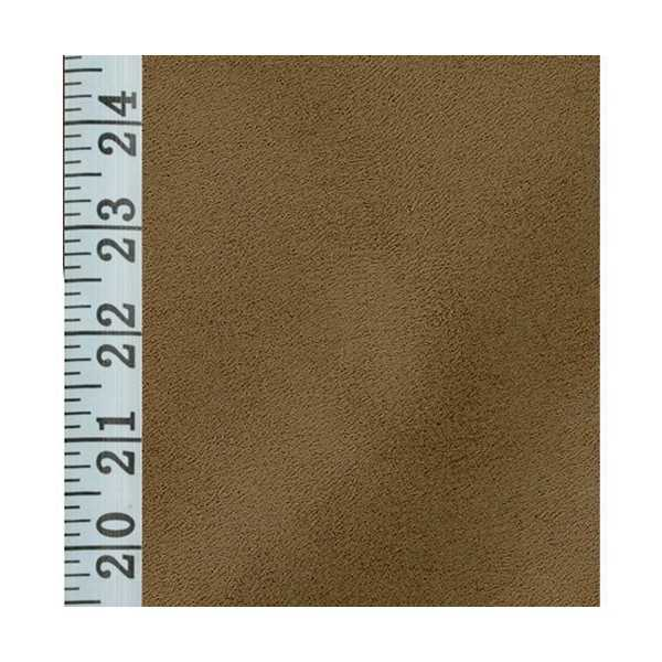 Stretch Suede Chestnut Elasticized Cushion Cover 731