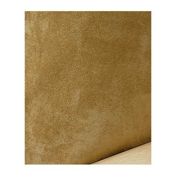 Suede Camel Zippered Cushion Cover 612