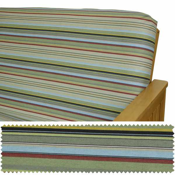 Bahama Stripe Zippered Cushion Cover 901