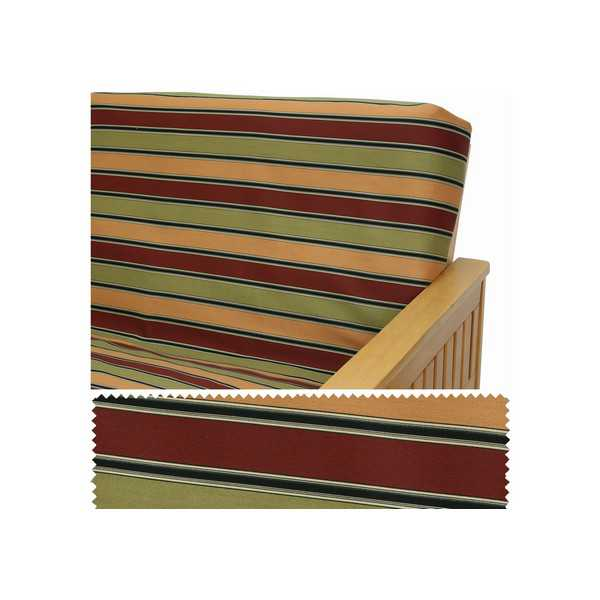Montrose Stripe Custom Furniture Slipcover 162