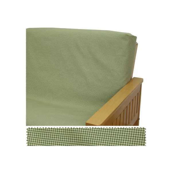 Mini Chek Olive Elasticized Cushion Cover 48