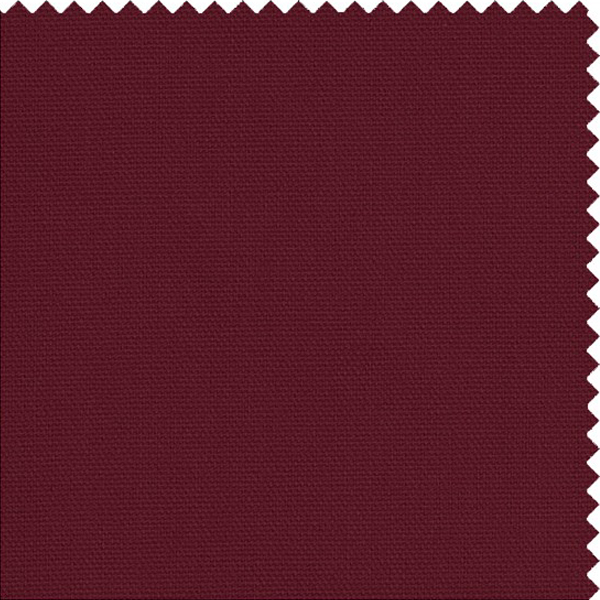 Poplin Burgundy Custom Furniture Slipcover 921