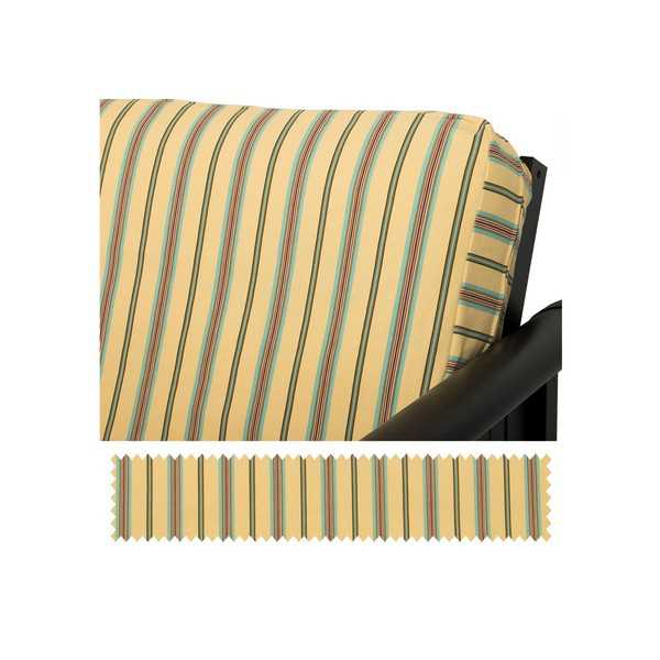 Sunny Isles Stripe Custom Furniture Slipcover 104