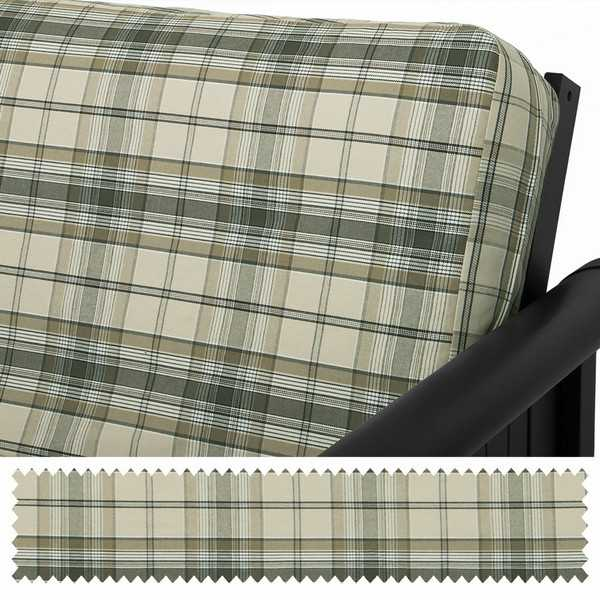 Fern Denim Plaid Custom Furniture Slipcover 199