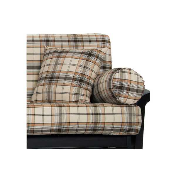 Rust Denim Plaid Custom Pillow Cover 188