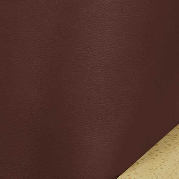 Faux Leather Burgundy Arm Cover Protectors 297