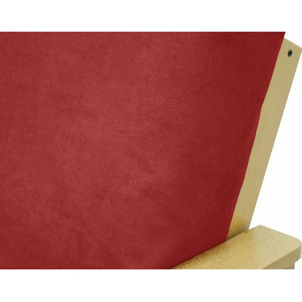 Twill Ruby Outdoor Zippered Cushion Cover 261