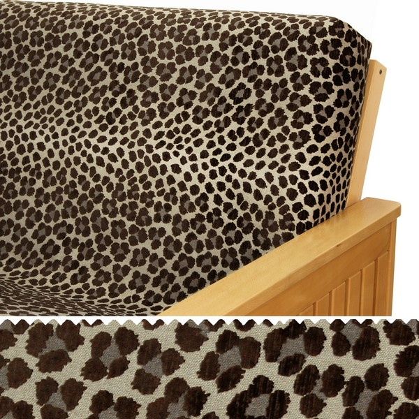 Panther Brown Elasticized Cushion Cover 17
