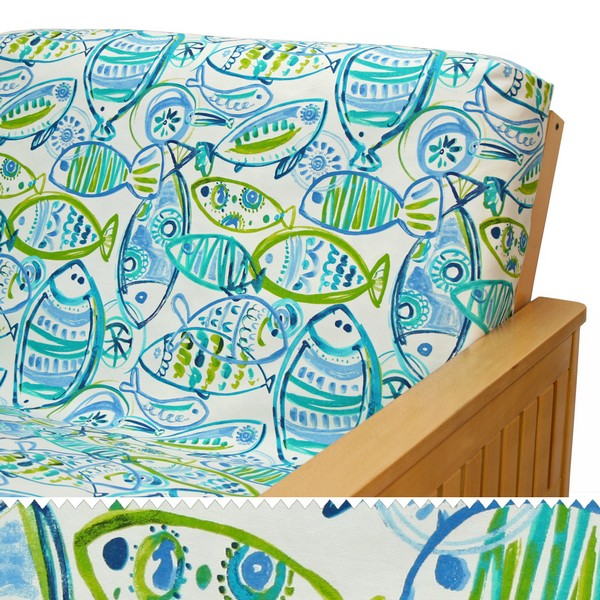Fish Tales Custom Furniture Slipcover 10