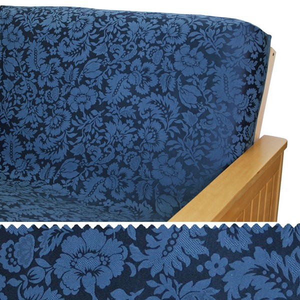Damask Blue Arm Cover Protectors 215