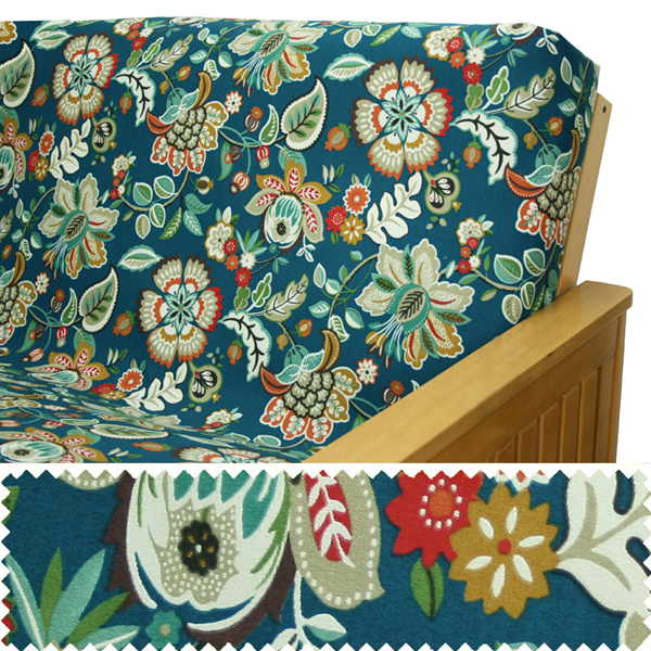 Outdoor Peacock Zippered Cushion Cover 933