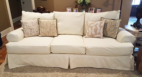 Custom Sofa Slipcovers Online